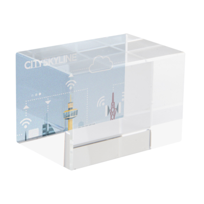 Picture of LEXINGTON GLASS CUBE BLOCK FOR 3D LASER ENGRAVING