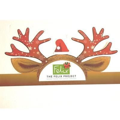 Picture of PROMOTIONAL CARDBOARD CHRISTMAS REINDEER ANTLERS