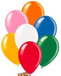 Picture of 12 INCH LATEX STANDARD BALLOON