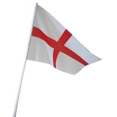 Picture of HAND HELD ST GEORGE WAVING FLAG