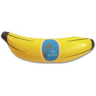 Picture of INFLATABLE BANANA in Yellow