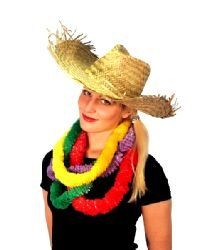 Picture of HAWAIIAN BEACHCOMBER STRAW HAT
