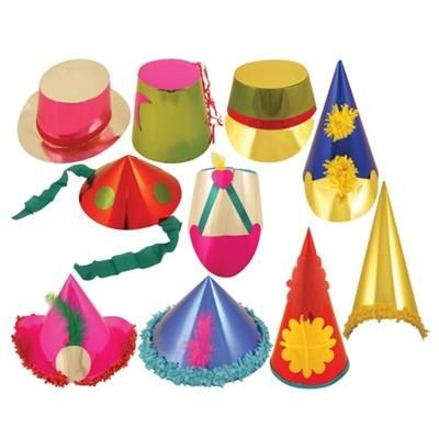 Picture of DELUXE FOILBOARD CARNIVAL PARTY HAT