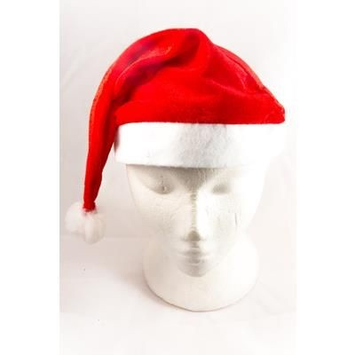 Picture of RED FELT FATHER CHRISTMAS SANTA HAT