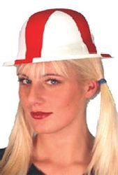 Picture of ENGLAND ST GEORGE PLASTIC BOWLER HAT