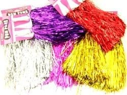 Picture of METALLIC FOIL POM POMS