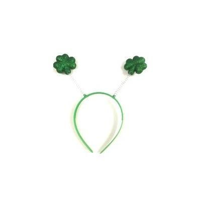 Picture of GLITTER SHAMROCK HEADBOPPER