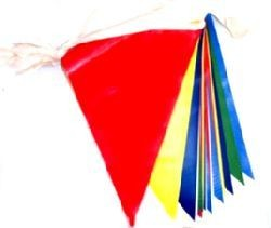 Picture of RAINBOW MULTI COLOUR BUNTING