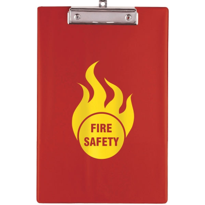 Picture of A4 CLIPBOARD in Red