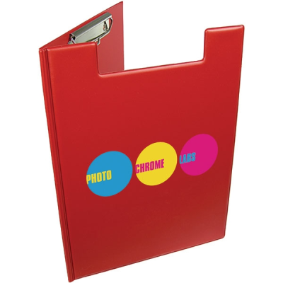 Picture of A4 FOLDER CLIPBOARD in Red