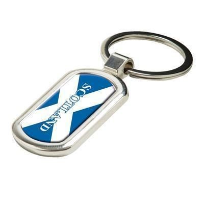 Picture of OVAL ALLOY INJECTION KEYRING