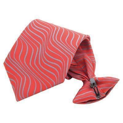 Picture of CLIP-ON PRINTED SILK TIE