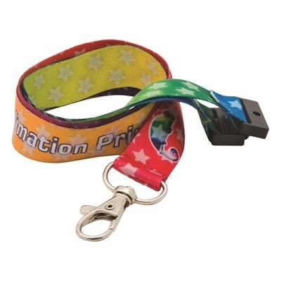 Picture of DYE SUBLIMATION PRINT LANYARD