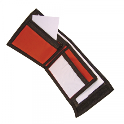 Picture of NYLON RIPPER WALLET in Red