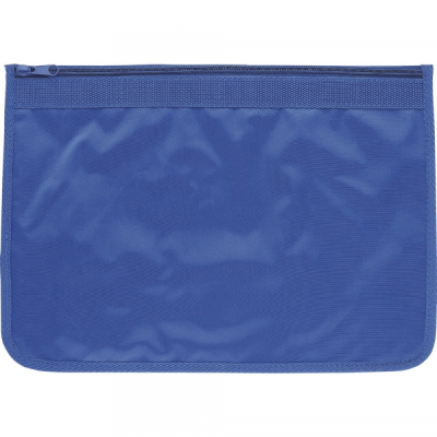 Picture of ZIP AROUND DOCUMENT WALLET in Royal Blue