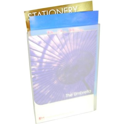 Picture of POLYPROPYLENE CONFERENCE FOLDER (FROSTED CLEAR)