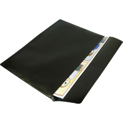 Picture of PVC DOCUMENT WALLET in Black
