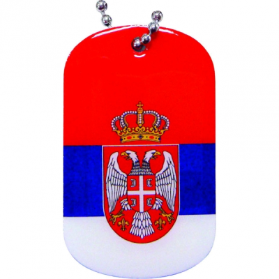 Picture of PRINTED METAL DOG TAG