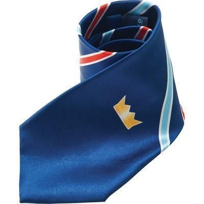 Picture of PRINTED SILK TIE