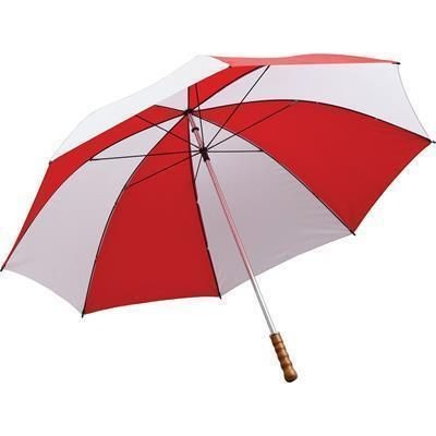 Picture of QUANTUM GOLF UMBRELLA in Red & White