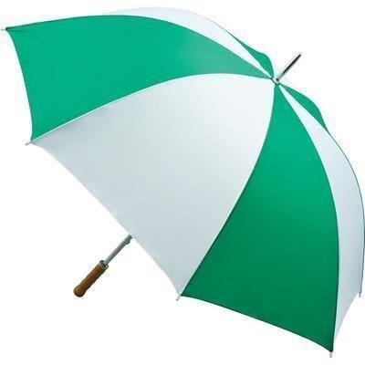 Picture of QUANTUM GOLF UMBRELLA in Emerald Green & White