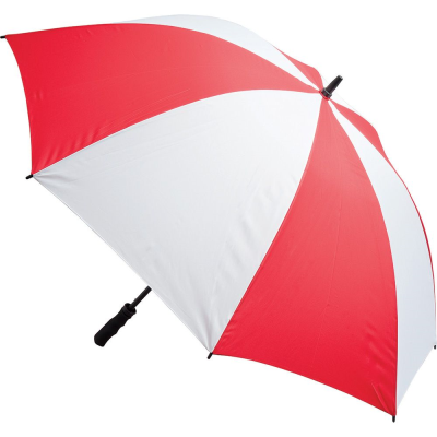 Picture of FIBREGLASS STORM UMBRELLA in Red & White