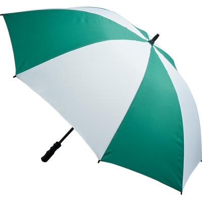 Picture of FIBREGLASS STORM UMBRELLA in Green & White