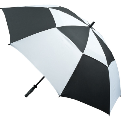 Picture of VENTED GOLF UMBRELLA in Black & White