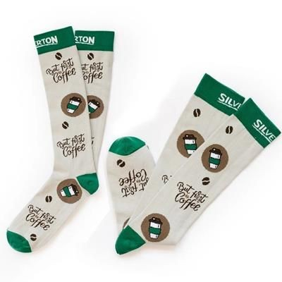 Picture of PREMIUM MID CALF 3 & 4 UPCYCLED LONG SOCKS