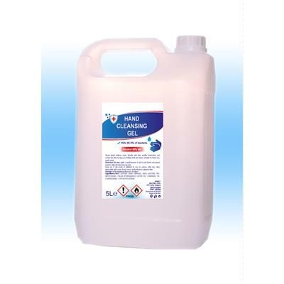 Picture of 1L DRUM OF SANITISER GEL 80 % ALCOHOL