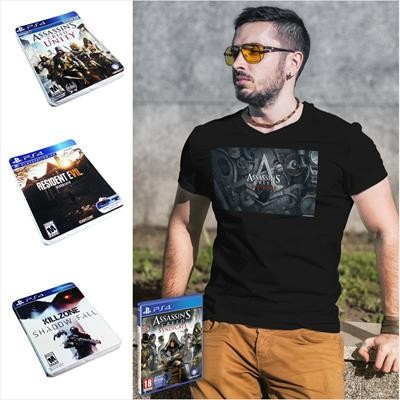 Picture of COMPRESSED GAMING TEE SHIRT