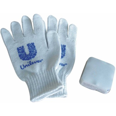Picture of COMPRESSED MAGIC COTTON GLOVES in Square Shape
