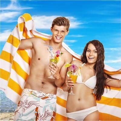 Picture of JACQUARD BEACH TOWEL