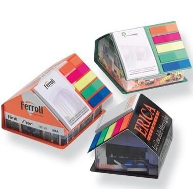 Picture of MEM-STICK HOUSE SHAPED DESK NOTE SET
