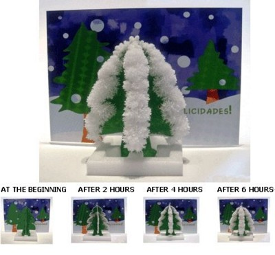 Picture of MAGIC GROWING CHRISTMAS GREETINGS CARD