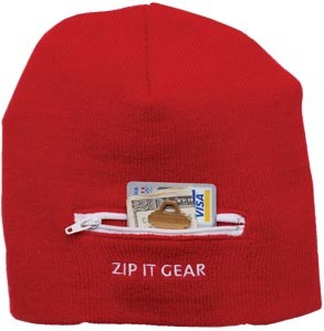 Picture of ZIP IT SECURITY BEANIE HAT