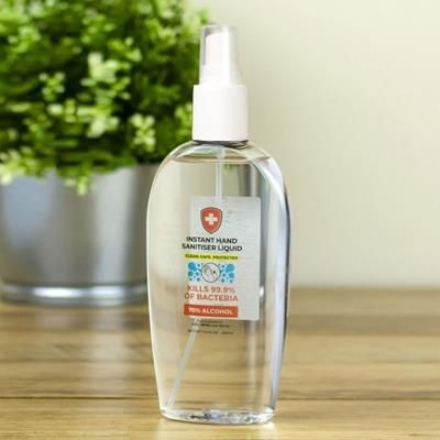Picture of HAND SANITISER GEL 200ML SPRAY BOTTLE