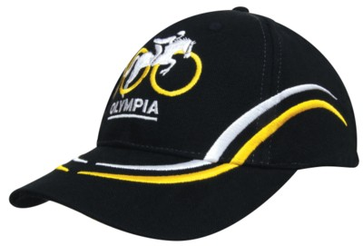 Picture of BRUSHED HEAVY COTTON BASEBALL CAP with Curve Embroidery on Crown & Peak
