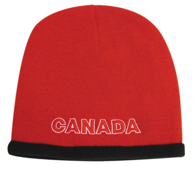 Picture of ROLL DOWN ACRYLIC & POLAR FLEECE BEANIE HAT