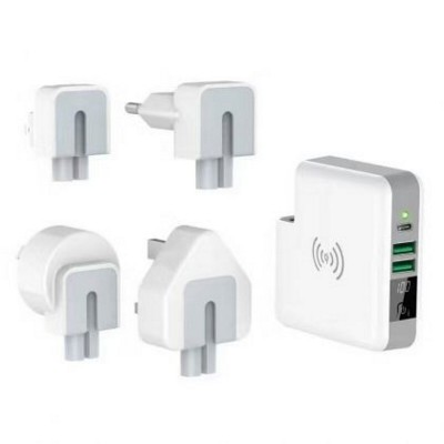 Picture of 3-IN-1 ULTIMATE TRAVEL CHARGER in White