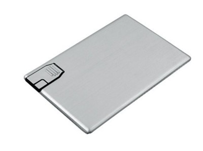 Picture of BABY CARD PLATINUM METAL USB FLASH DRIVE MEMORY STICK