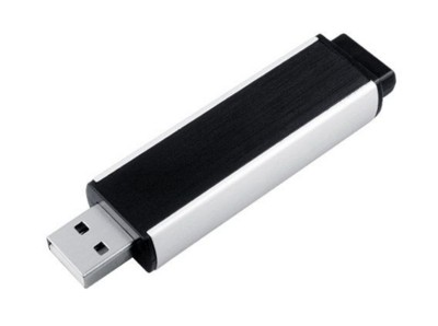 Picture of BABY CLICK USB FLASH DRIVE MEMORY STICK in Black