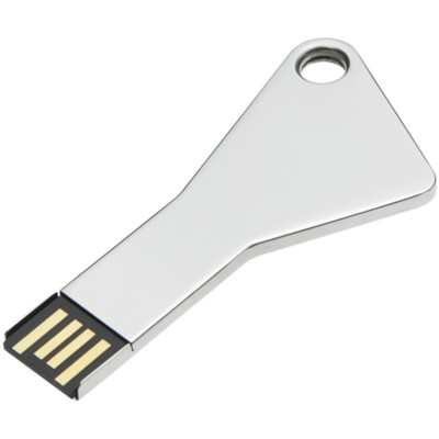 Picture of BABY KEY 1 USB MEMORY STICK in Silver