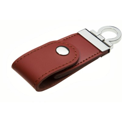 Picture of BABY LEATHER CLIP USB MEMORY STICK