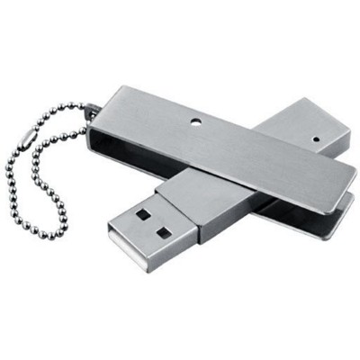 Picture of BABY METAL TWIST USB MEMORY STICK in Silver