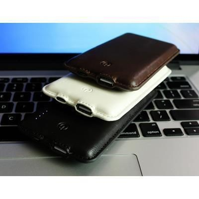 Picture of LEATHER POWER BANK CHARGER 030