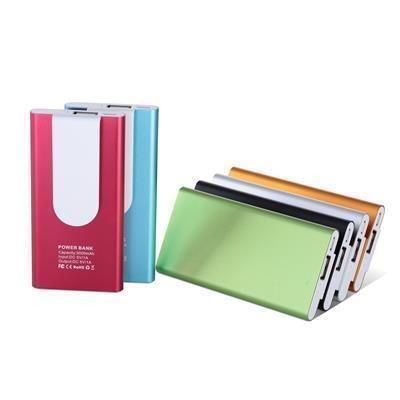 Picture of ALUMINIUM METAL POWER BANK CHARGER 033
