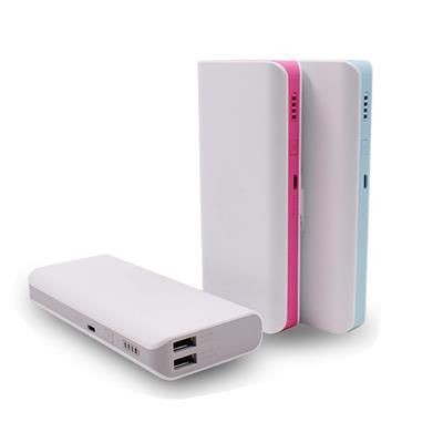 Picture of PLASTIC POWER BANK CHARGER 011 in White