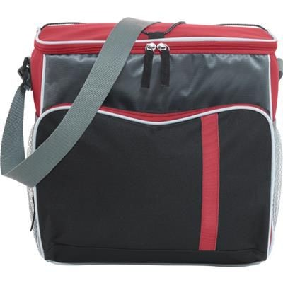 Picture of Polyester 600D COOL BAG in Red