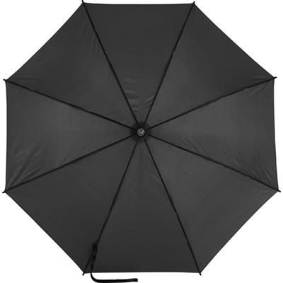 Picture of AUTOMATIC POLYESTER UMBRELLA in Black